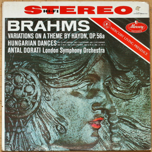 Brahms Variations Op 56a Hungarian Dances Dorati
