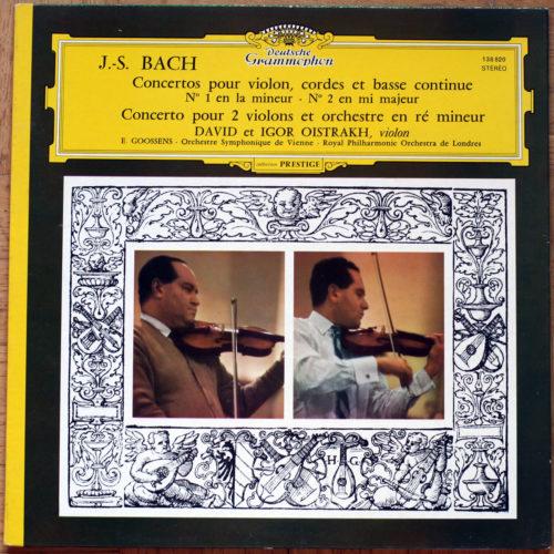 Bach Concertos Violon Oistrakh