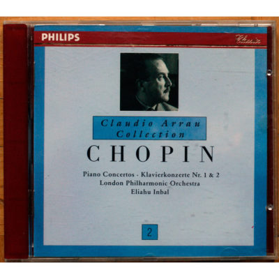 Chopin Concertos Arrau Inbal