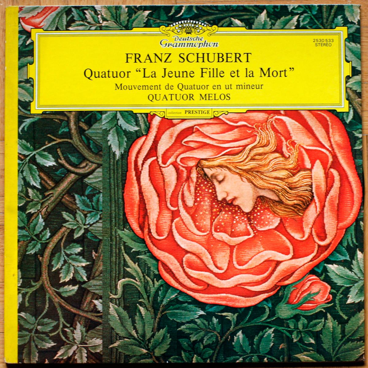 Schubert Jeune Fille Quatuor Melos