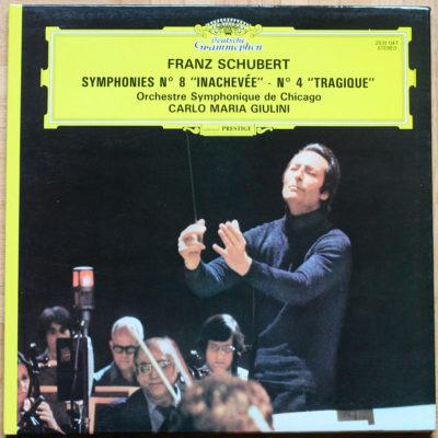 Schubert Symphonies 4 & 8 Giulini