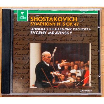 Shostakovitch Symphonie 5 Mravinsky