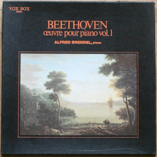 Beethoven Sonates Brendel