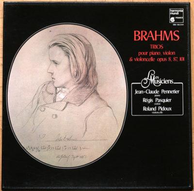 Brahms Trios Piano Violon Violoncelle Pasquier