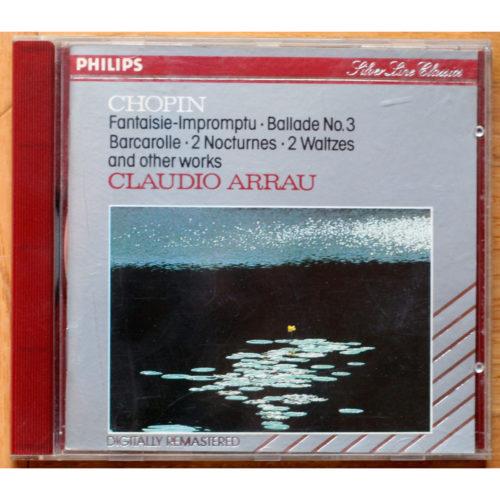 Chopin Ballade Barcarolle Arrau