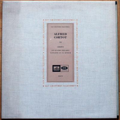Chopin Ballades Fantaisie Cortot