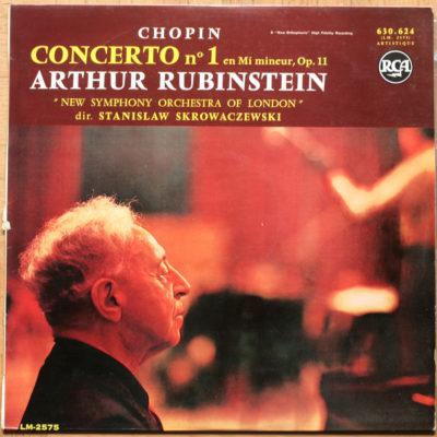Chopin Concerto Piano 1 Rubinstein Skrowaczewski