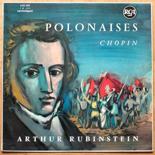 Chopin Polonaises Rubinstein