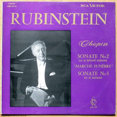 Chopin Sonates 2 & 3 Rubinstein