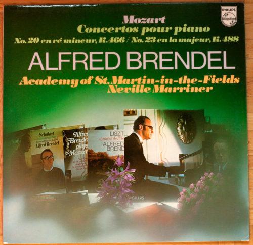 Mozart Concertos piano 20 & 23 Brendel Marriner