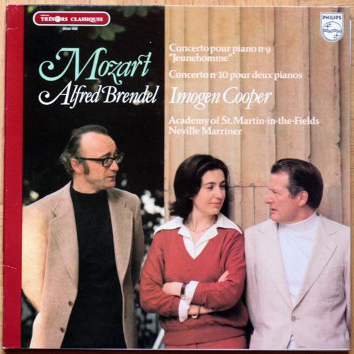 Mozart Concerto Piano 9 10 Brendel Marriner
