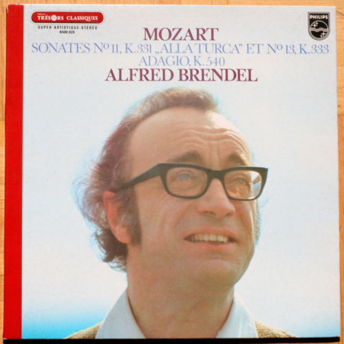 Mozart sonates Piano 11 & 13 Adagio brendel