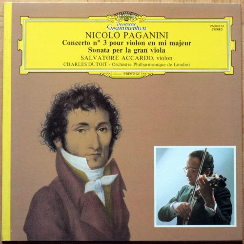Paganini Accardo Dutoit