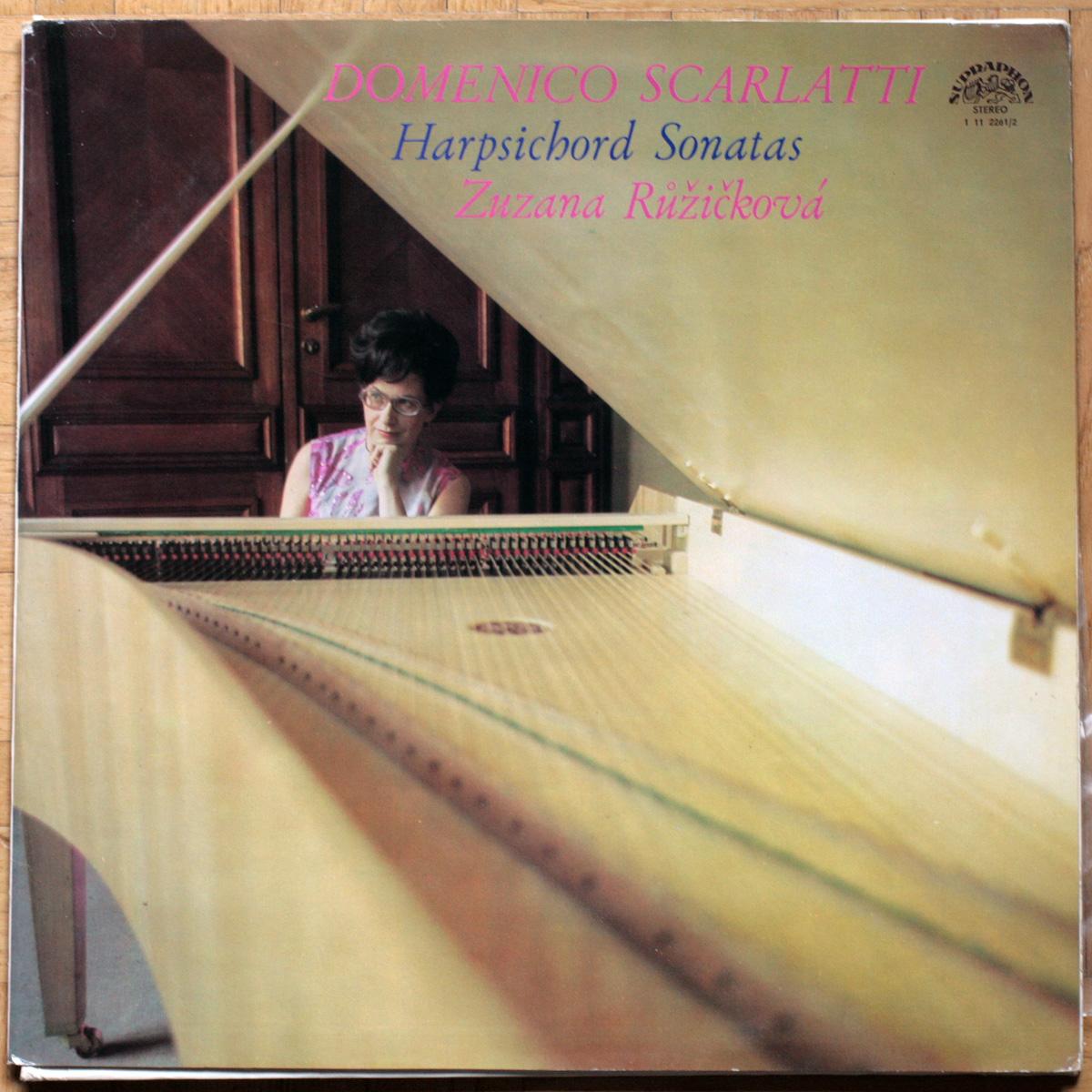 Scarlatti Sonates Ruzickova