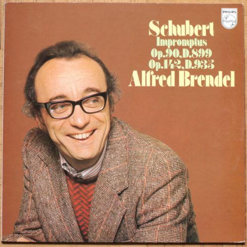 Schubert Impromptus Brendel