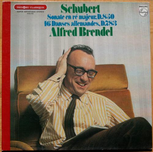 Schubert Sonate en Re Danses AllemandesBrendel