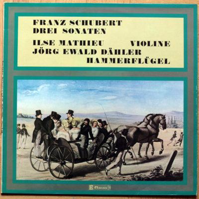 Schubert Sonates Mathieu Dahler