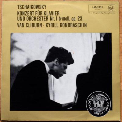 Tchaikowsky Concerto Piano 1 Cliburn Kondrashin