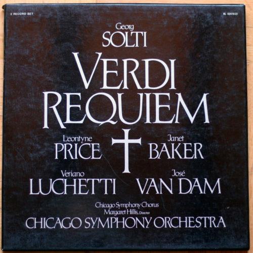 Verdi Requiem Baker Price Solti
