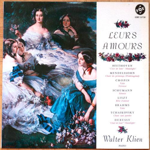 Leurs Amours Walter Klien