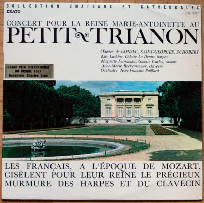 Gossec Schobert Trianon Paillard