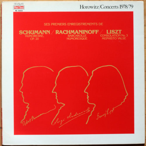 Liszt Rachmaninoff Schumann Horowitz