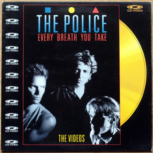 LaserDisc_Police Every Breath You Take