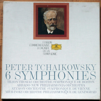 Tchaikowsky_Symphonies Integrale Abbado Mravinsky