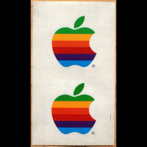 Apple Sticker Vintage