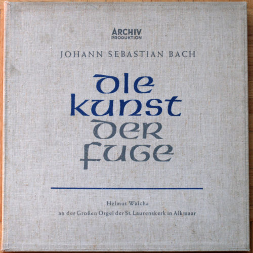 Bach Art Fugue Walcha