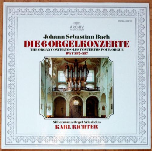 Bach Concertos Orgue Richter