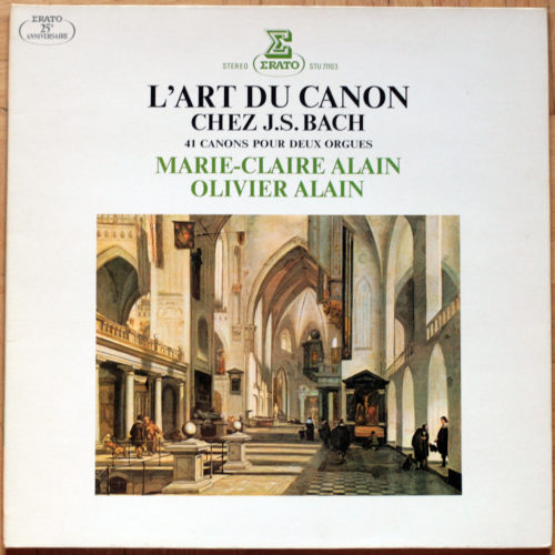 Bach Art Canon Alain