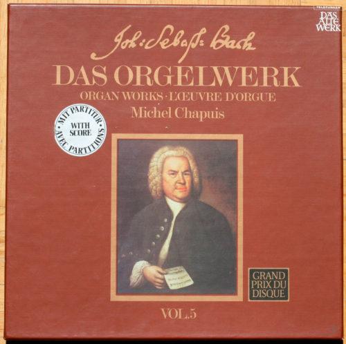bach Orgue Vol 5 Chapuis