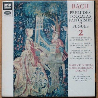 Bach Fantaisie Toccata Duruflé