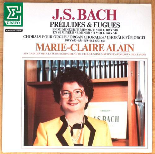 Bach Preludes Fugues Chorals Alain