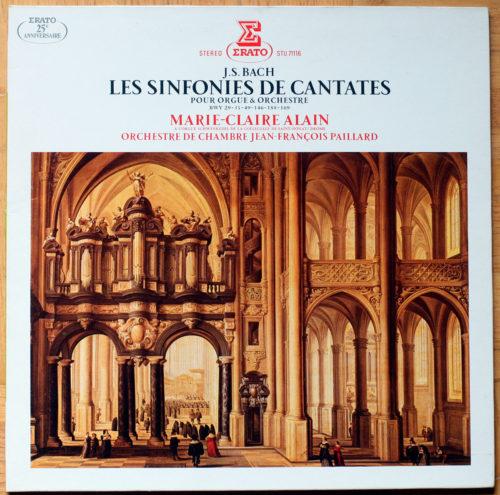 Bach Sinfonies Cantates Alain Paillard