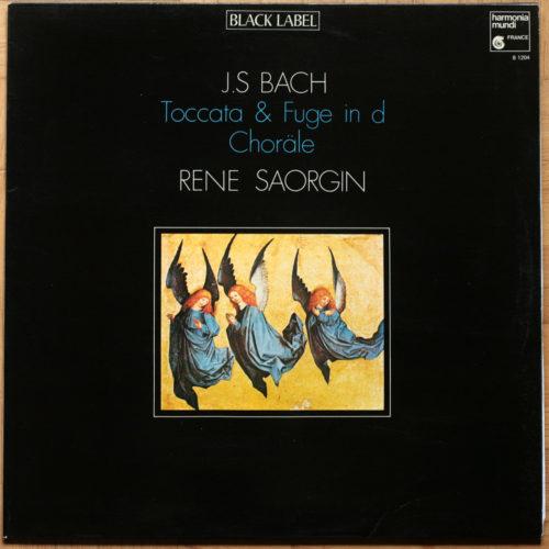 Bach Toccata Sonate Choral Saorgin