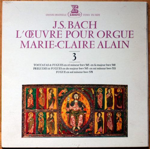 Bach Toccatas Fugues Alain