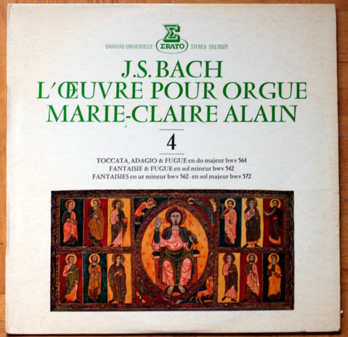 Bach Toccata Fantaisie Fugue Alain