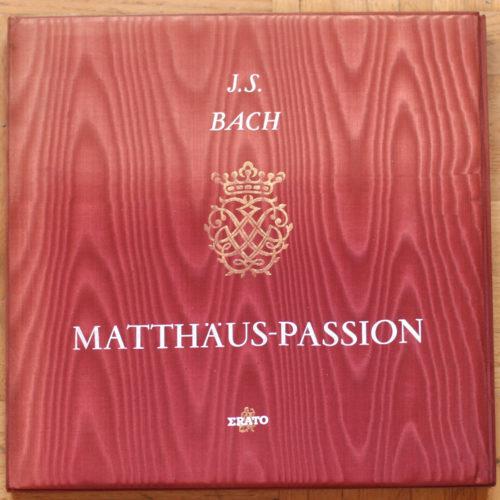 Bach Passion Matthieu Werner