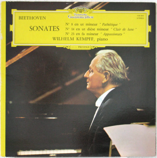 Beethoven Sonates Kempff