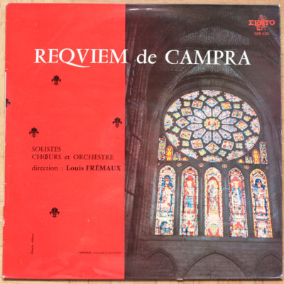 Campra Requiem Fremaux