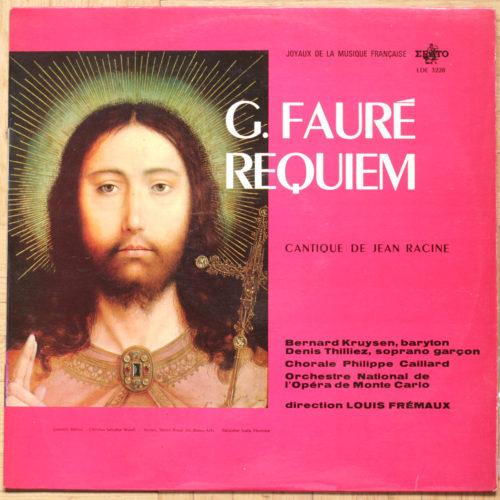 Faure Requiem Fremaux