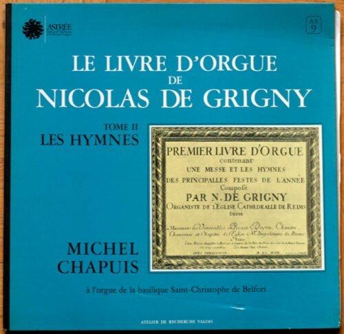 Grigny Livre Orgue Hymnes