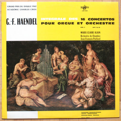 Haendel Concerto orgue Alai Paillard