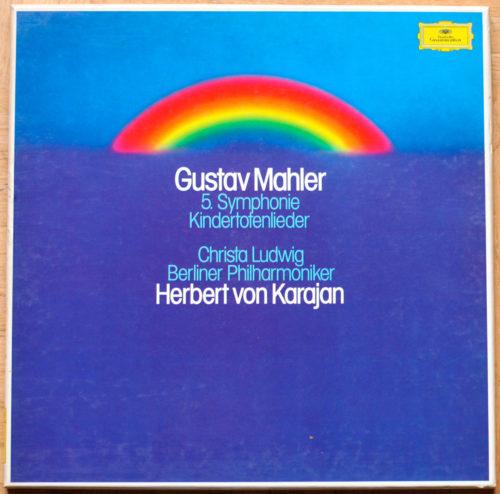 Mahler Symphonie 5 Kindertotenlieder Ludwig Karajan