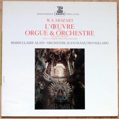 Mozart Sonates Eglise Alain Paillard