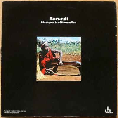 Burundi Musique Traditionnelle