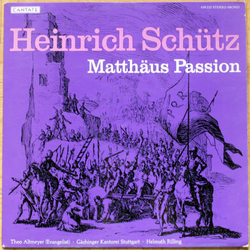 Schutz Passion Matthieu Rilling