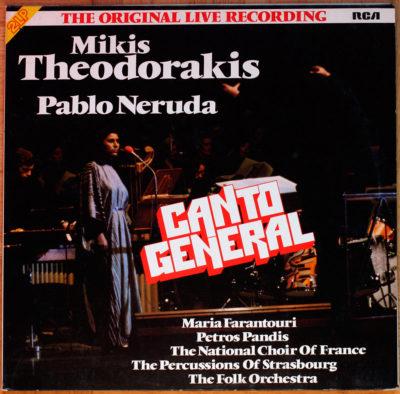 Theodorakis Neruda Canto general